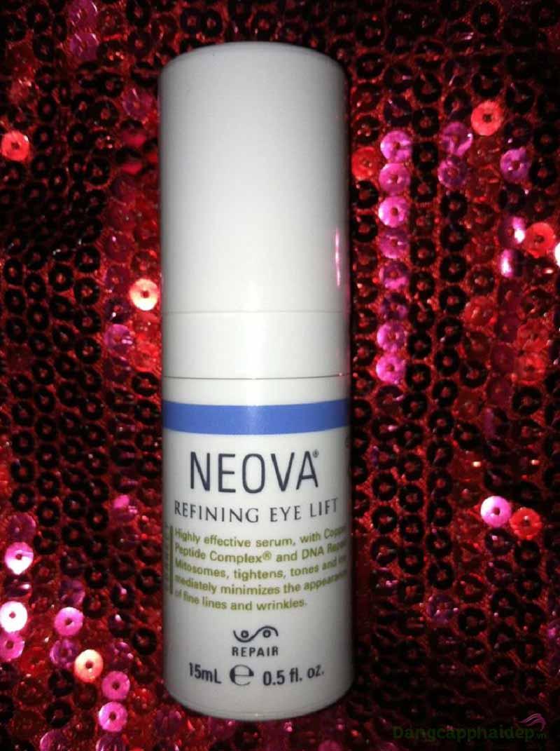 Cảm nhận của khách hàng sau thời gian sử dụng Neova Refining Eye Lift