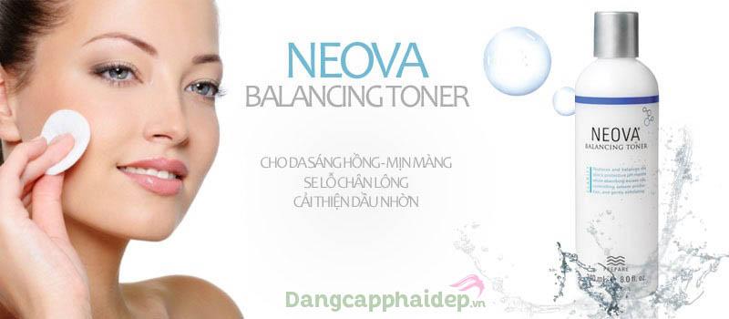 Nước hoa hồng Neova Balancing Toner rất được ưa chuộng vì sở hữu nhiều tính năng ưu việt