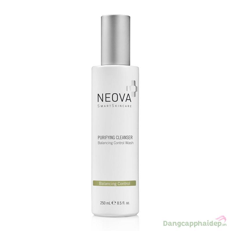 Neova Purifying Cleans - Sữa rửa mặt tốt nhất cho da nhờn mụn