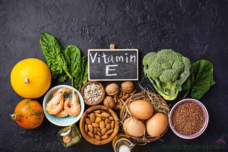 Vitamin E là 1 trong những thành phần quan trọng có trong sản phẩm.