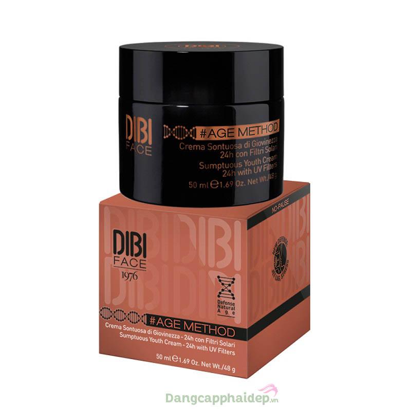 Kem dưỡng trẻ hóa da chuyên sâu 24h Dibi Age Method Sumptuous Youth Cream 24h
