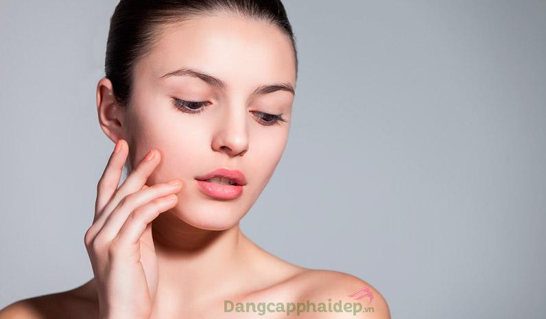 Da căng mịn, tươi trẻ tự nhiên sau thời gian sử dụng Dibi Procellular 365 Oxy Age Renewing Serum Cream