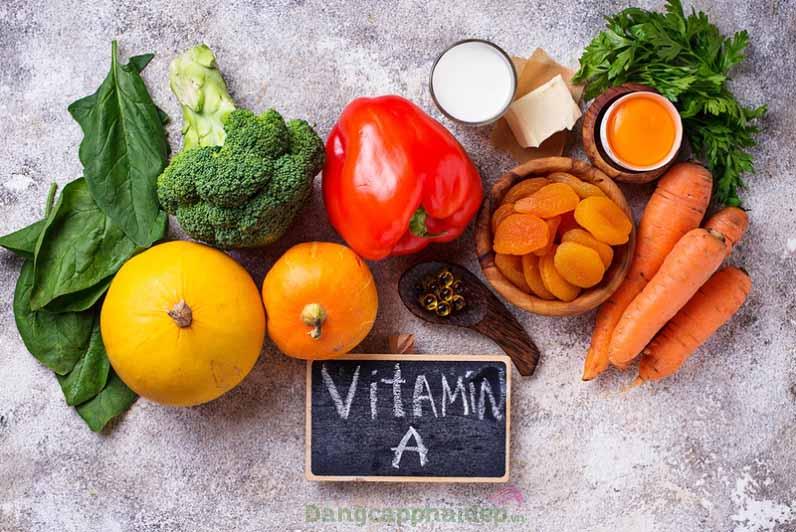 Bổ sung vitamin A vào thành phần