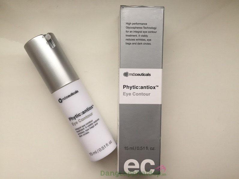 Kem trị thâm mắt, bọng mỡ và chống lão hóa Md: Ceuticals Phytic Antiox Eye Contour