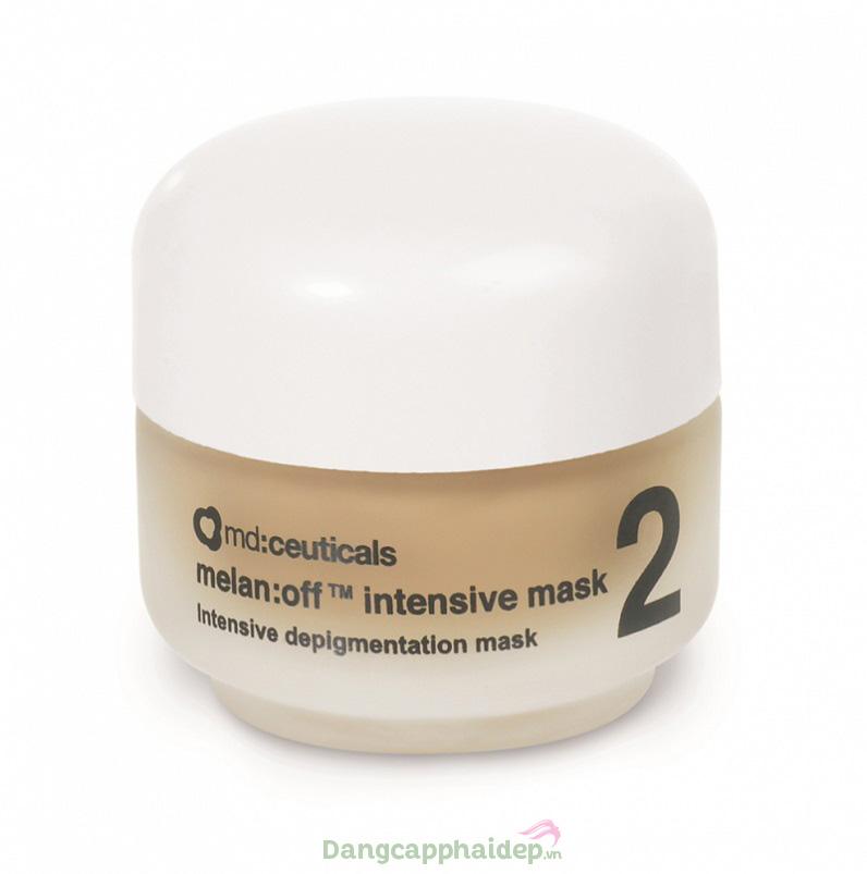 Mặt nạ dưỡng trị nám chuyên sâu Melan: off intensive mask