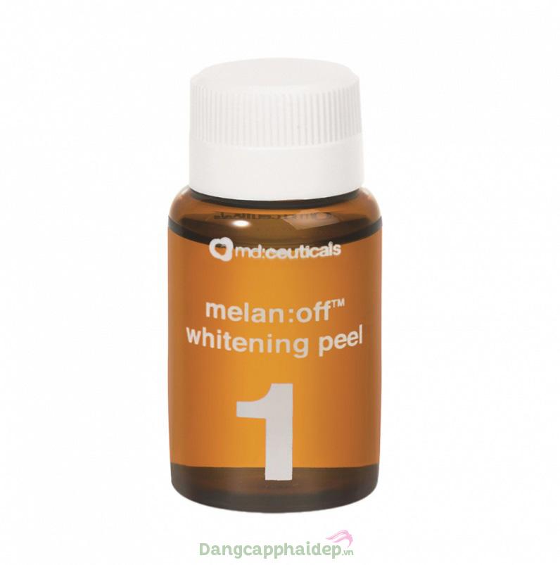 Melan:off whitening peel ức chế melanin, làm mờ nám nhanh chóng