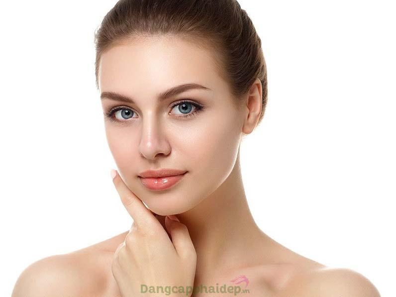 Làn da thay đổi tích cực sau 4 tuần sử dụng Swissline Essential Serum
