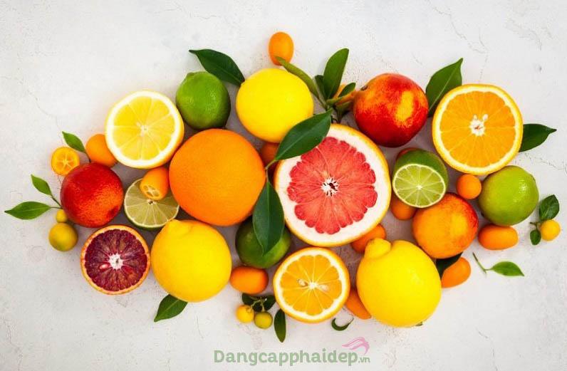 Trái cây họ cam, quýt là những thực phẩm nên ăn để tăng sức đề kháng mùa dịch