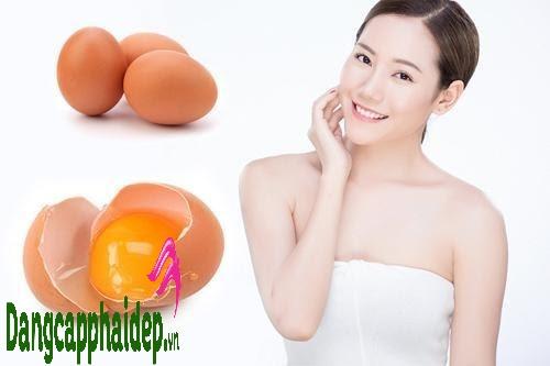 mặt nạ trứng gà