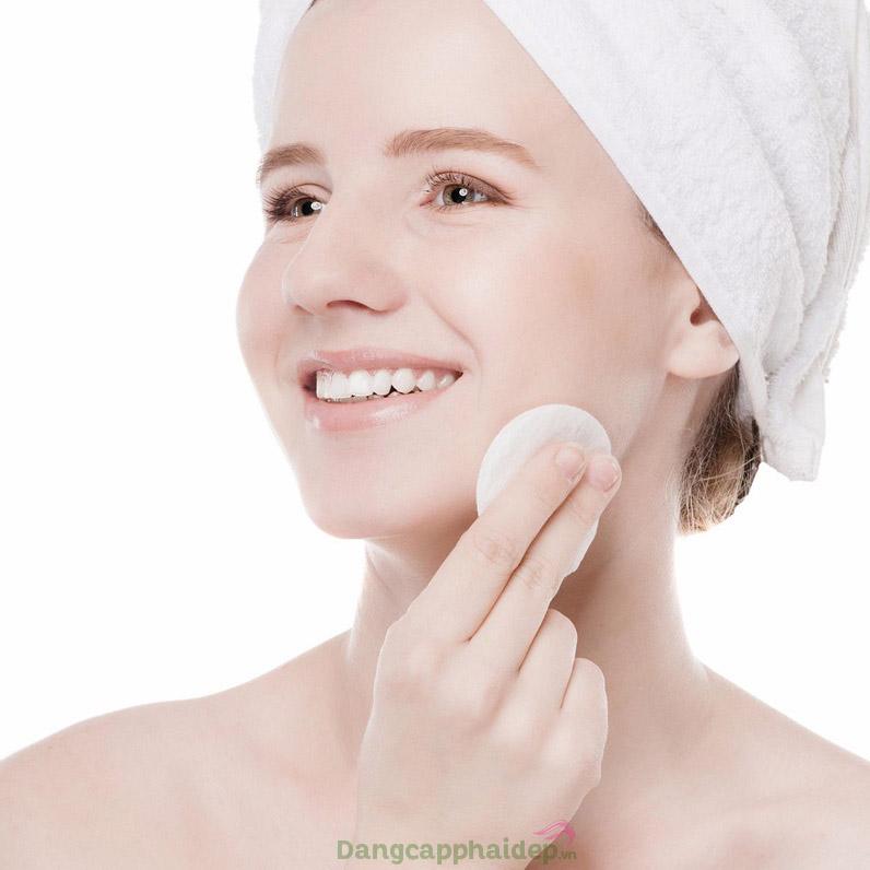 Sản phẩm giúp da sạch tinh khiết, mịn màng và tươi tắn tự nhiên