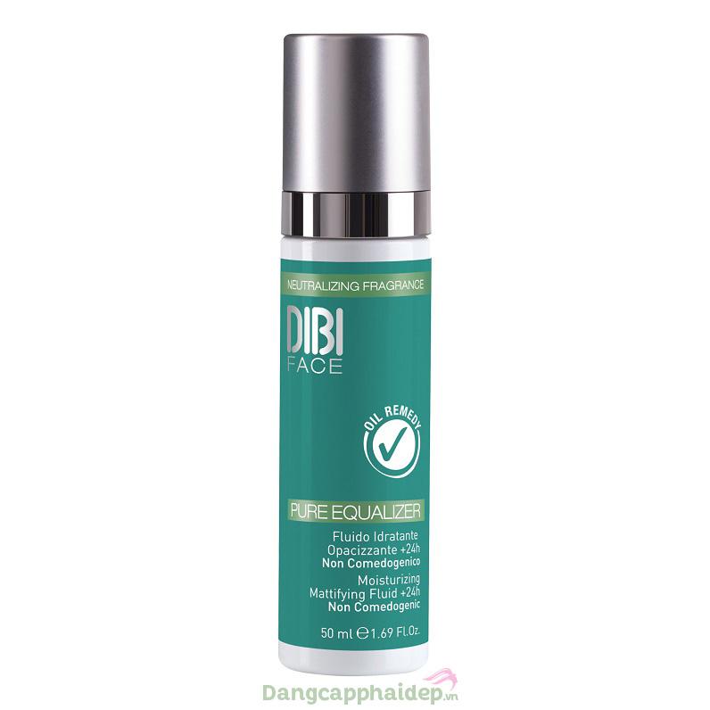 Dung dịch dưỡng ẩm làm đều màu da Dibi Pure Equalizer Moisturizing Mattifying Fluid +24h