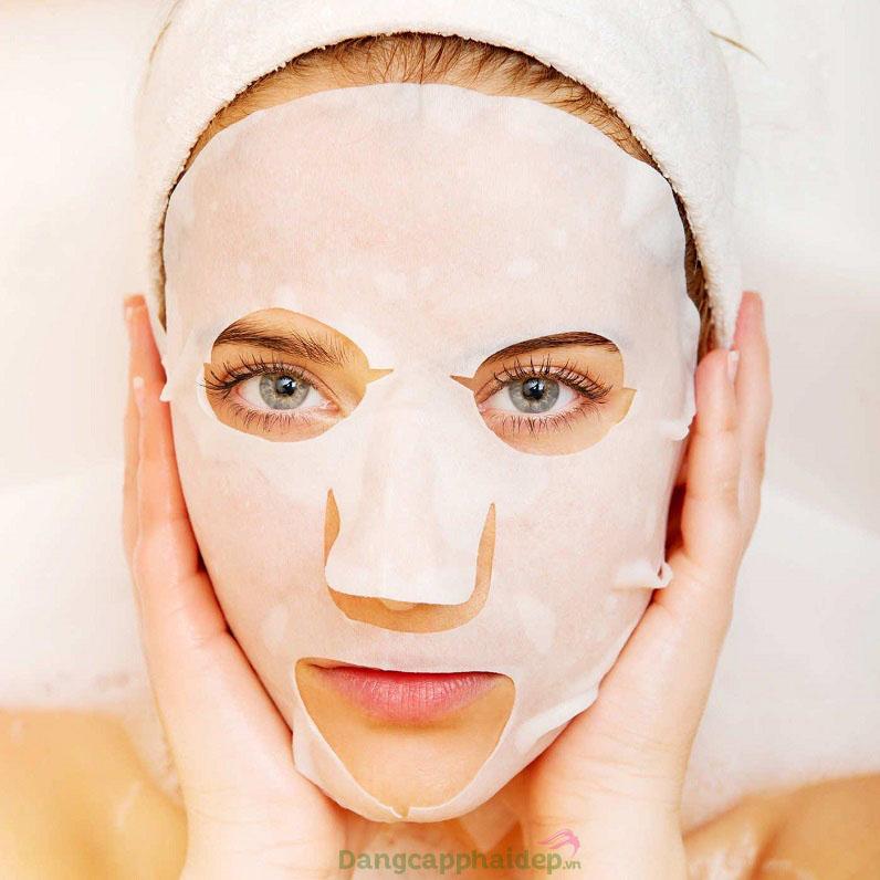 Đắp mặt nạ thường xuyên là thói quen tốt giúp làn da trẻ trung lâu dài