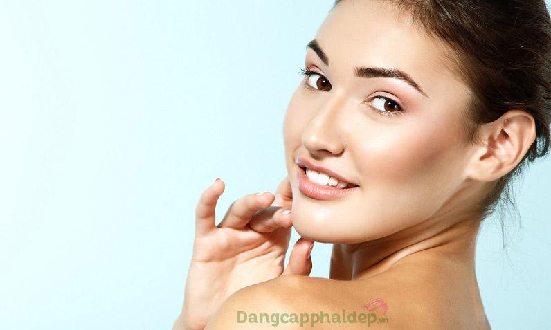 Da sạch thoáng, hết mụn và không bị thâm sau mụn khi dùng sữa rửa mặt trị mụn Clear Cell Medicated Acne Facial Scrub