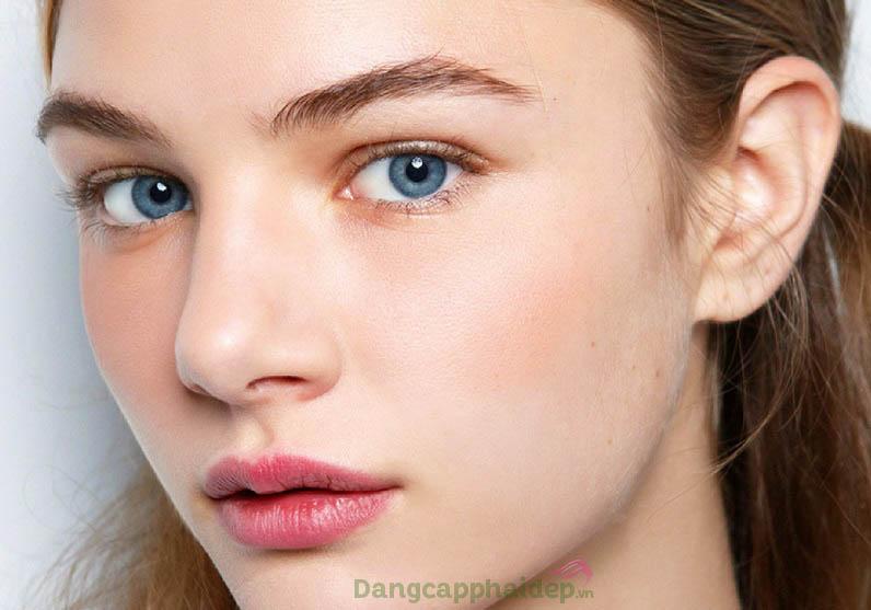 Da trắng sáng hồng hào sau thời gian sử dụng serum dưỡng trắng da Image Iluma Intense Brightening Serum