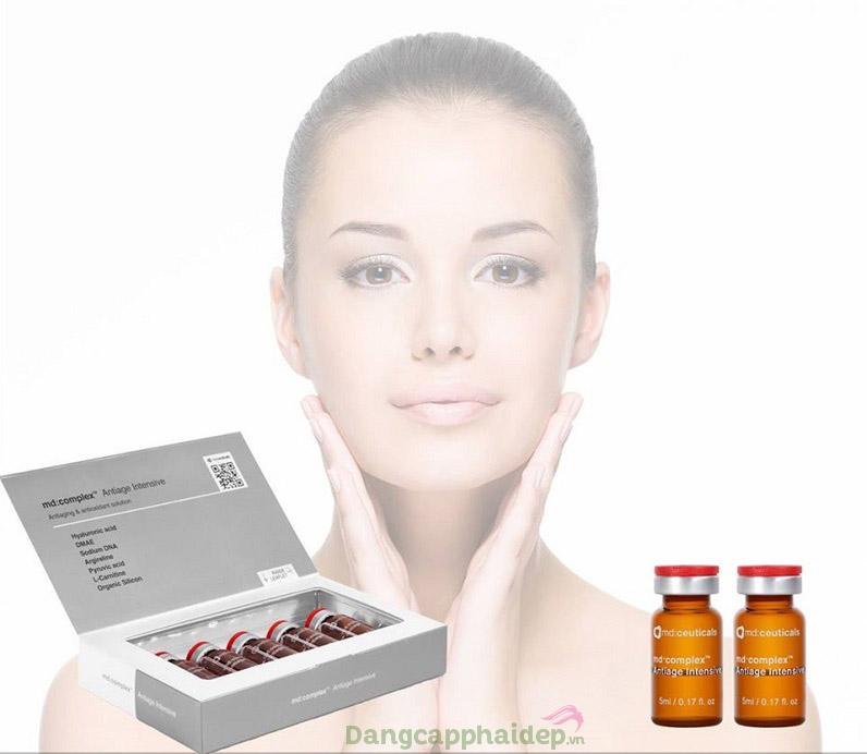 Đảo ngược lão hóa da khi sử dụng Md:ceuticals Md Complex Antiage Intensive