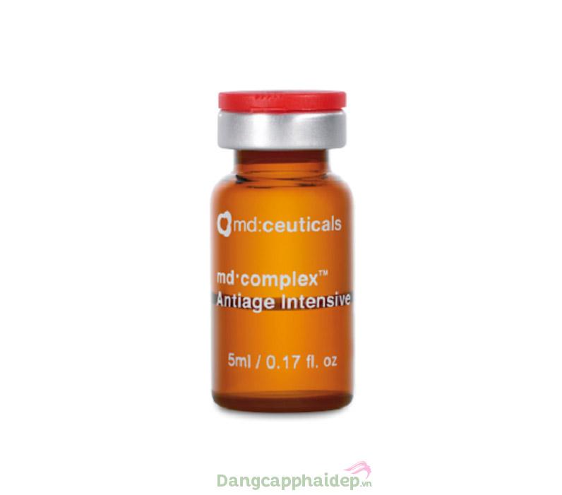 Tiêm căng bóng, xóa nhăn và chống lão hóa Md:ceuticals Md Complex Antiage Intensive.