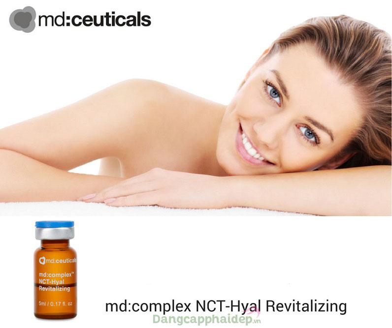 Duy trì vẻ đẹp làn da trẻ trung khi dùng tiêm căng bóng da Md Complex NCT-Hyal Revitalizing