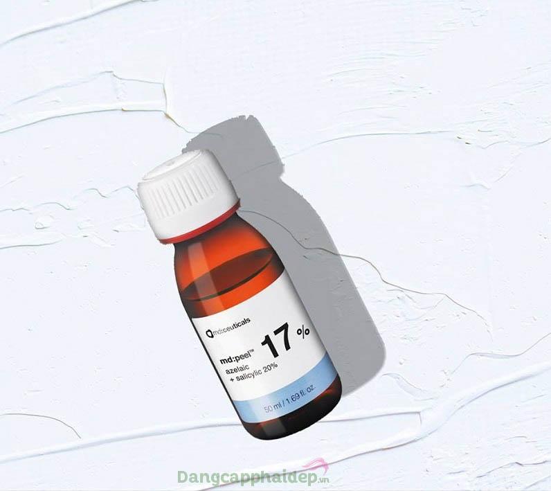 Thành phần hoạt động chính là Axit Azelaic và Axit Salicylic
