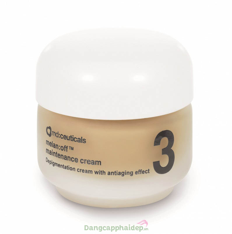 Md:ceuticals Melan Off Maintenance Cream 30g – Kem Trị Nám Tại Nhà Sau Peel, Laser