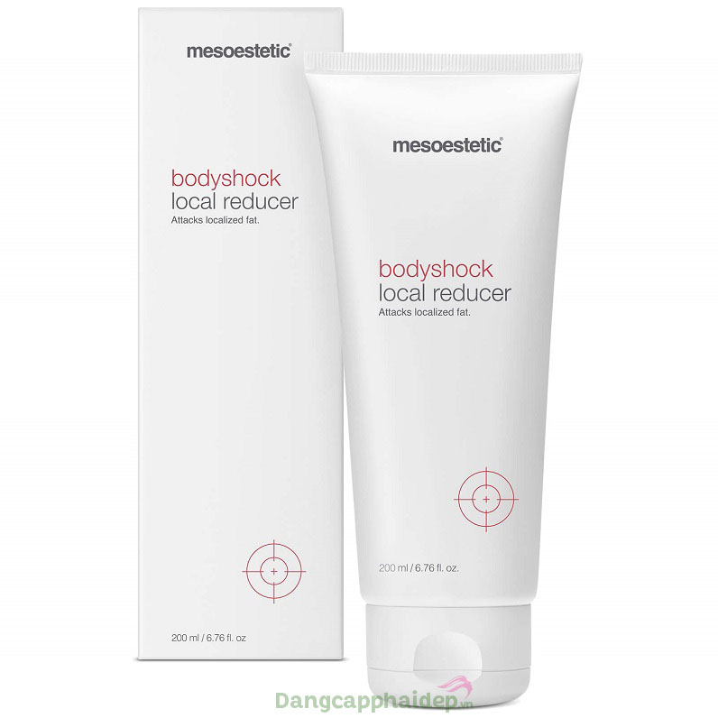 Kem tan mỡ dành cho body Mesoestetic Bodyshock Local Reducer