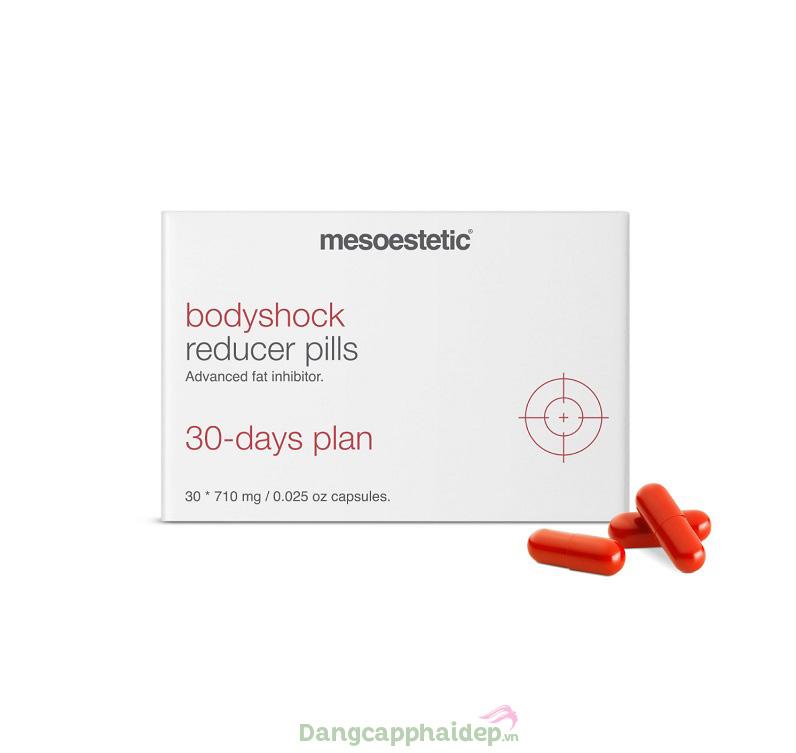 Viên Uống Giảm Cân Mesoestetic Bodyshock Reducer Pills 30 Viên – Tây Ban Nha