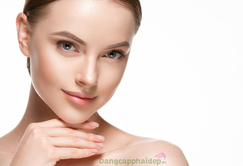 Mặt nạ liên tục cấp nước, dưỡng ẩm giúp da căng bóng, mịn mượt và tươi mới đầy sức sống