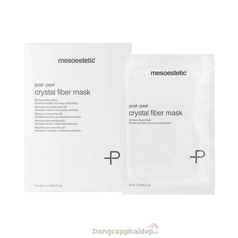 Mesoestetic Post-peel Crystal Fiber Mask – Mặt Nạ Dưỡng Ẩm Tái Tạo Da