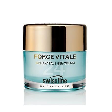 Swissline Force Vitale Aqua Vitale Gel Cream – Gel Cấp Nước Tái Tạo Da Tức Thì - REF 1119