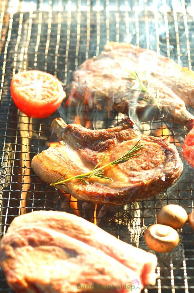 """Bí quyết nướng thịt heo organic cao nguyên Tategamori """"ngon khó cưỡng"""""""