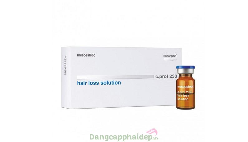 Mesoestetic C.Prof 230 dành cho những muốn kích thích tóc mọc nhanh, ngăn gãy rụng, phục hồi tóc...
