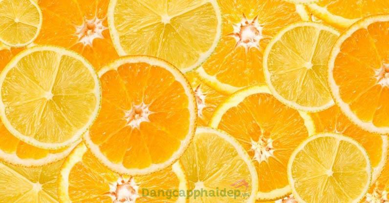 Vitamin C là thành phần hoạt động chính trong sản phẩm