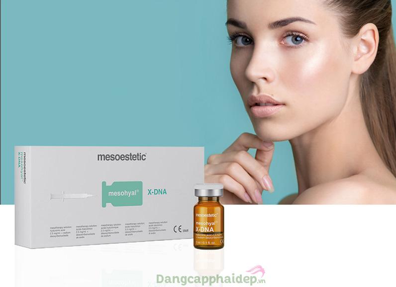 Mesoestetic Mesohyal X-DNA sẽ chữa DNA, tái tạo làn da căng mượt, săn chắc tự nhiên