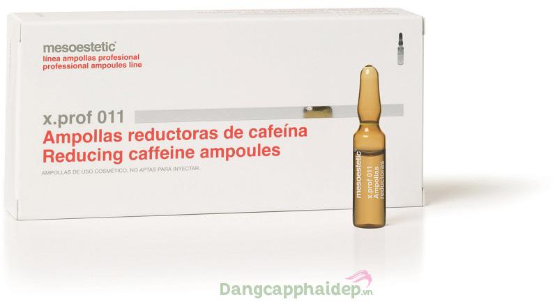 Tinh chất giảm mỡ dưới da Mesoestetic X.Prof 011 Reducing Caffeine