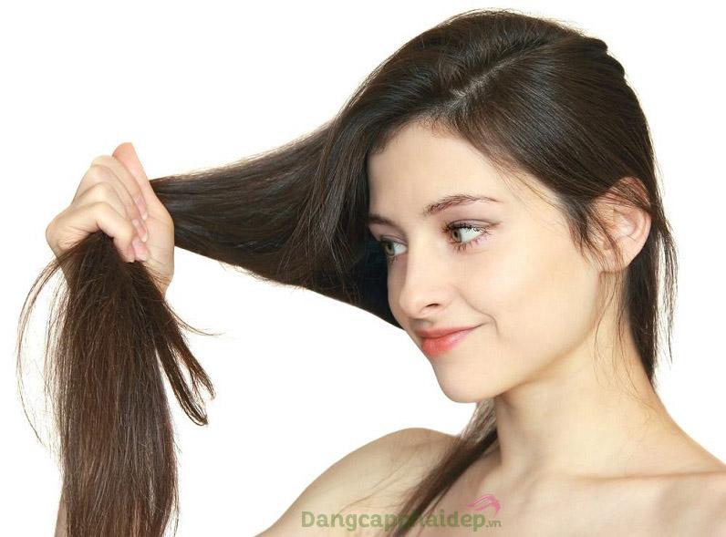 Sở hữu mái tóc sạch gàu, dày khỏe sau khi dùng Mesoestetic X.Prof 036 Biotin