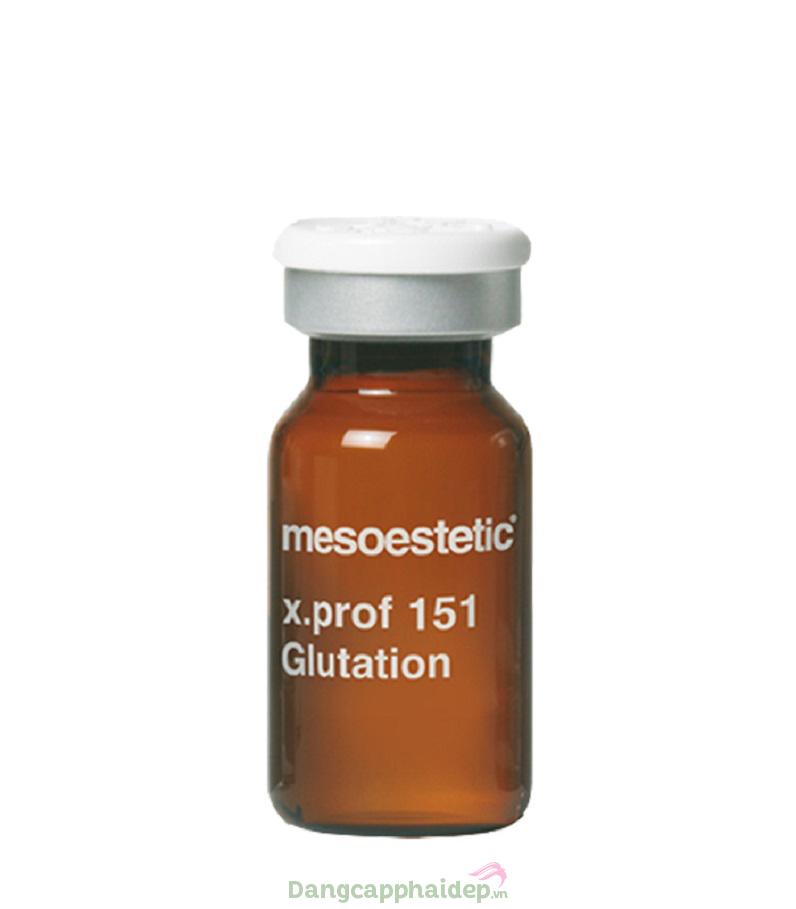 Mesoestetic X.Prof 151 Glutation – Tinh Chất Trị Nám Chống Lão Hóa Da