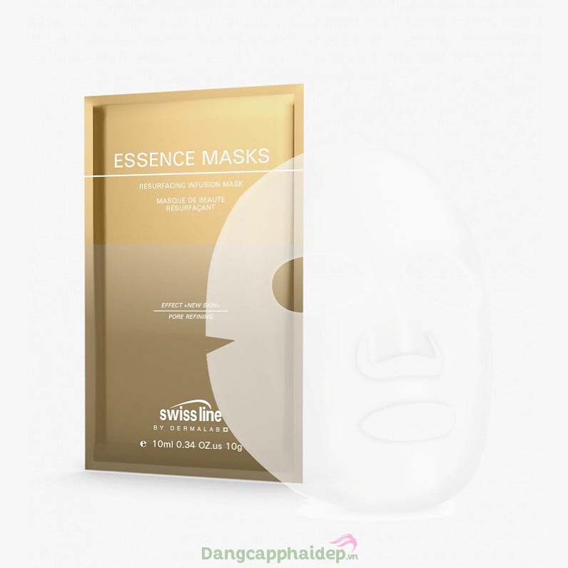 Swissline Essence Masks Resurfacing Infusion Mask – Mặt Nạ Trẻ Hóa Da Cấp Tốc