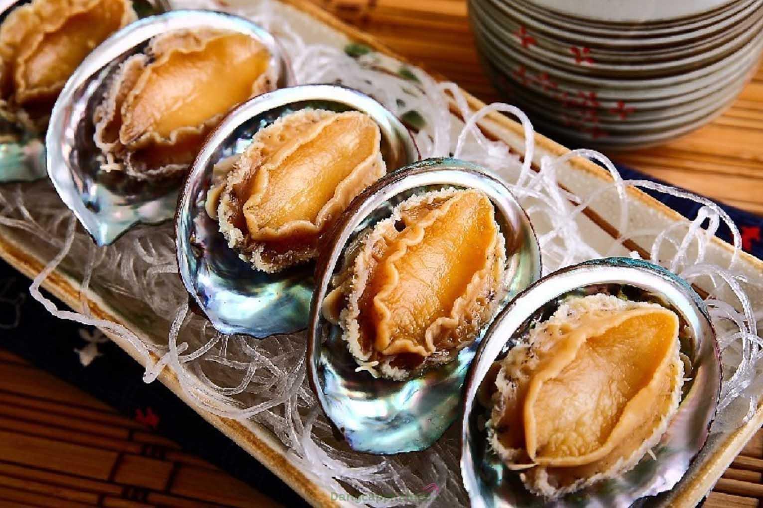 Bào ngư - loại hải sản được giới thượng lưu yêu thích sử dụng