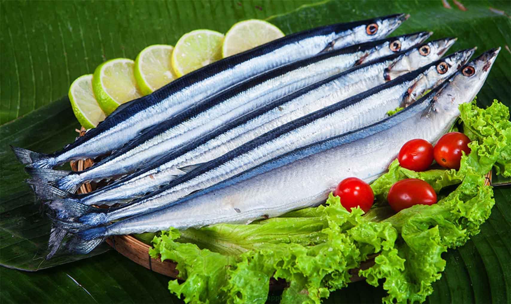 Cá thu đao (sanma) là đặc sản mùa thu trong ẩm thực Nhật Bản