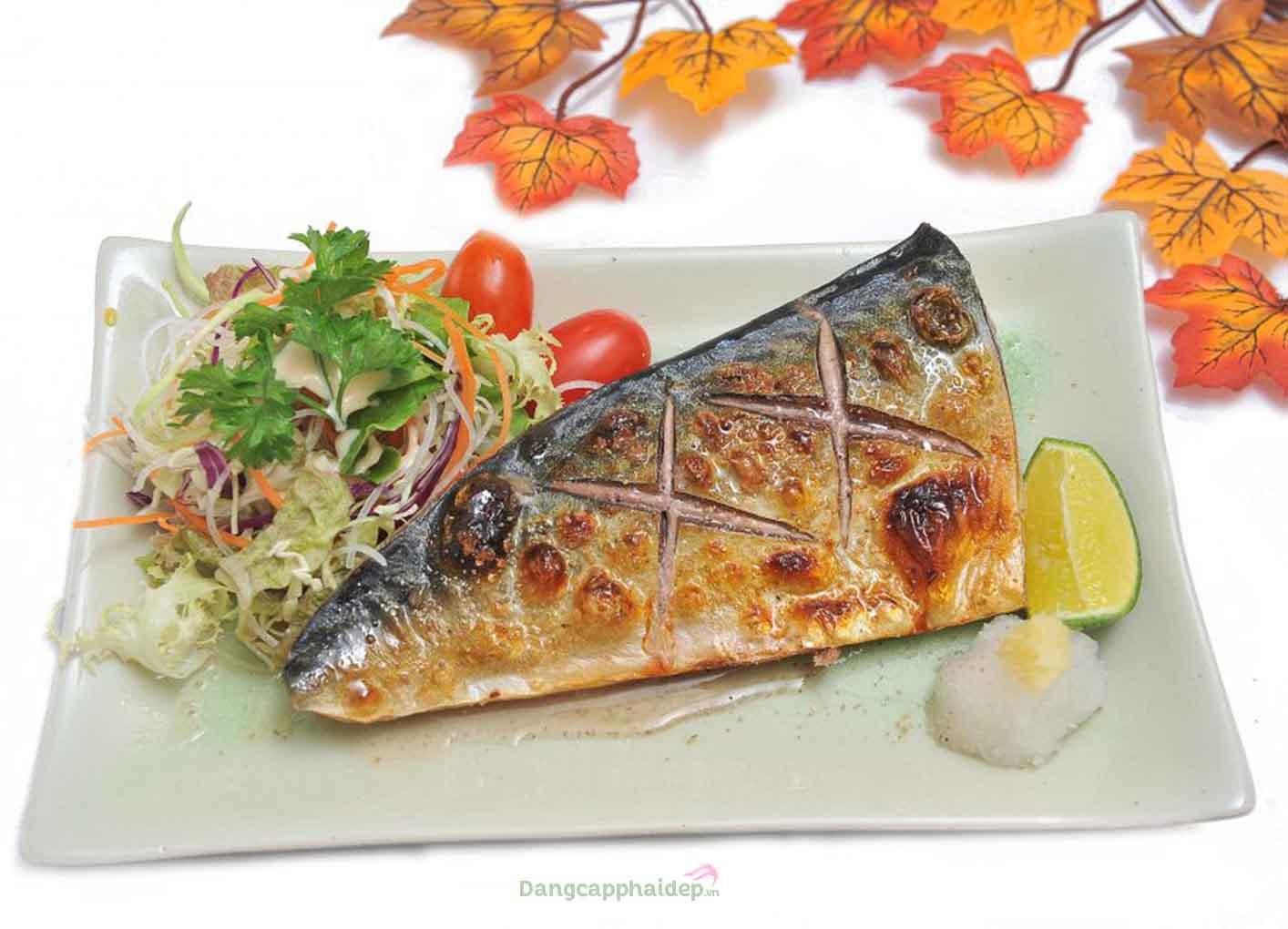 Cá thu đao Nhật nướng muối ngon khó cưỡng