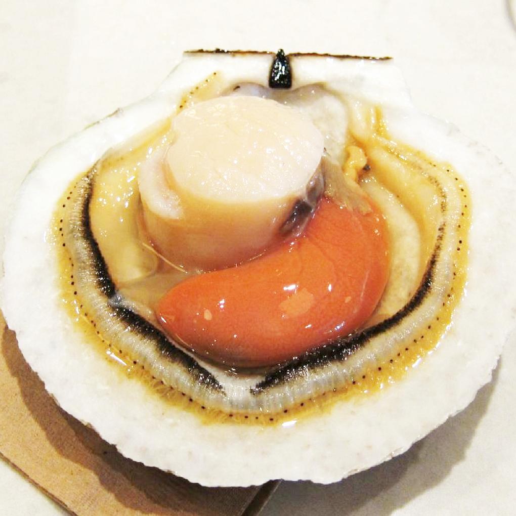 Cồi sò điệp được xem là phần ngon và quý nhất của con sò