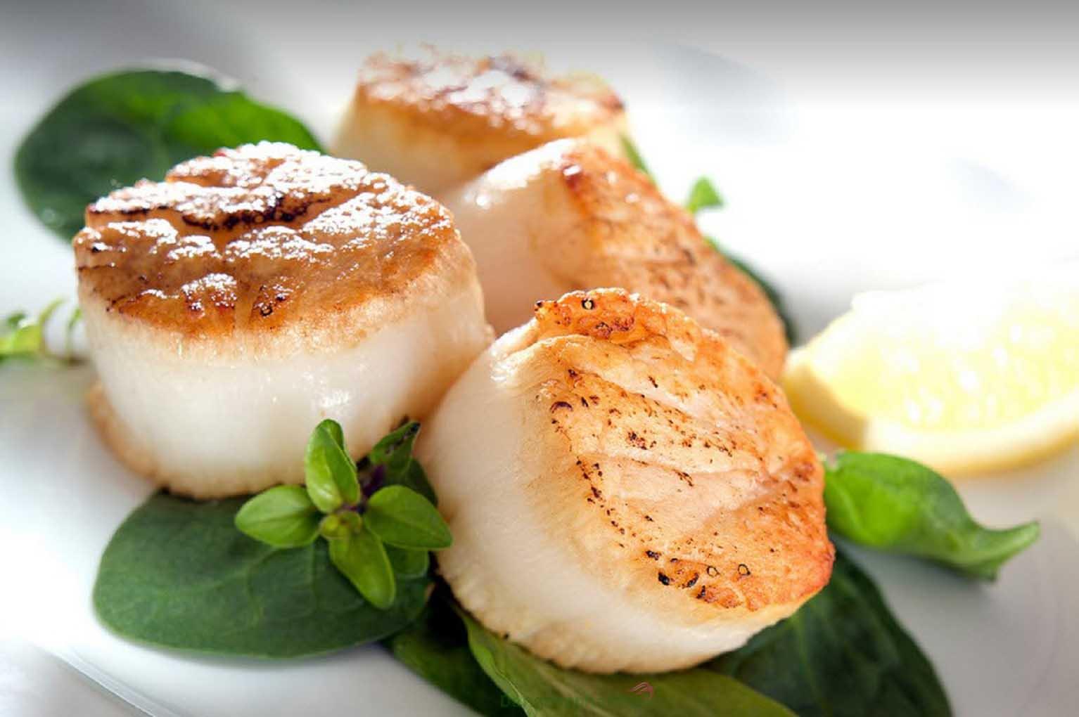 Cồi sò điệp là nguyên liệu hảo hạng cho các món ăn giàu giá trị dinh dưỡng