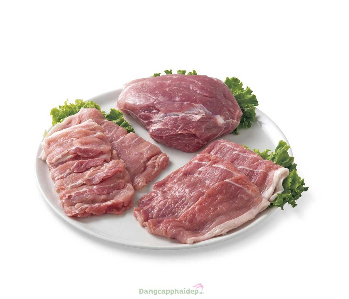 Thịt heo organic nhập khẩu từ nông trại Ark Farm rất ngọt, thơm và mềm mại đặc trưng