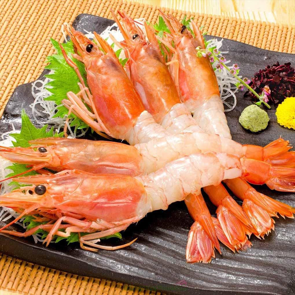 Tôm đỏ Argentina là một trong những loại tôm ngọt nhất thế giới