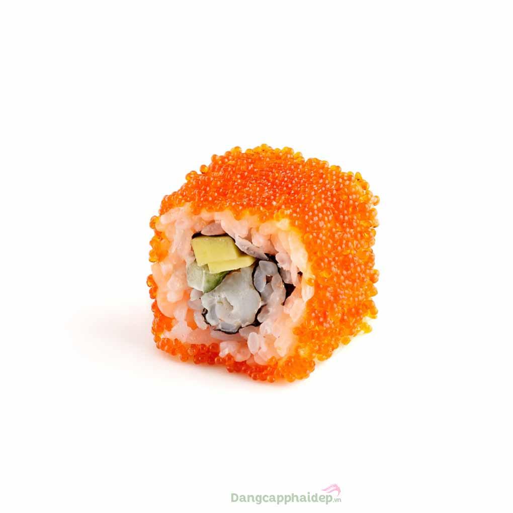 Trứng tôm Ebiko là 1 trong 9 loại trứng phổ biến nhất ở Nhật dùng làm sashimi hoặc sushi