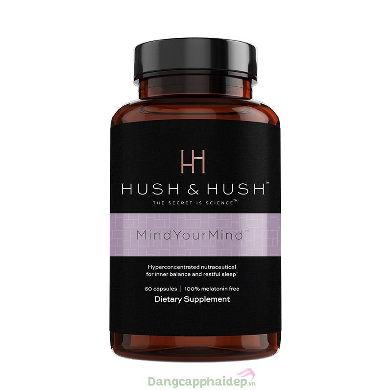 Viên uống cải thiện giấc ngủ giảm căng thẳng Image Hush & Hush Mind Your Mind