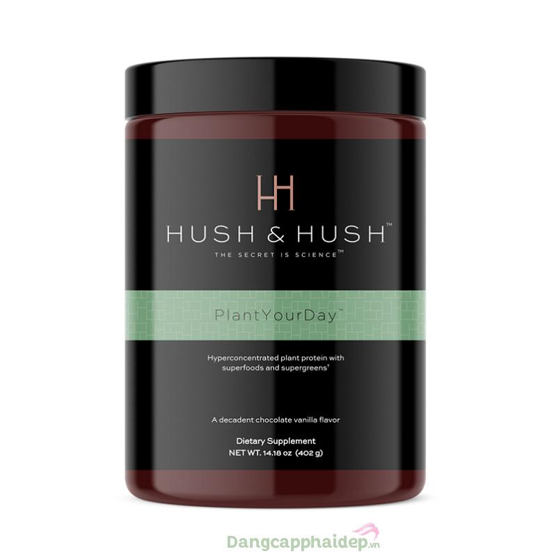 Hush & Hush Plant Your Day là loại siêu thực phẩm thuần chay thích hợp cho nhiều đối tượng sử dụng