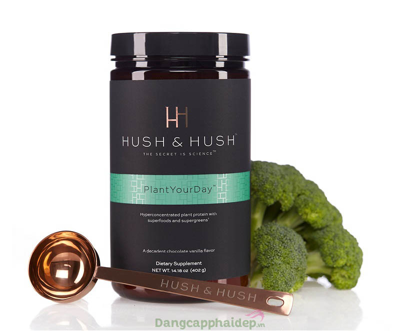 Image Hush & Hush Plant Your Day thay thế hoàn hảo bữa sáng, cung cấp đủ năng lượng cho cả ngày