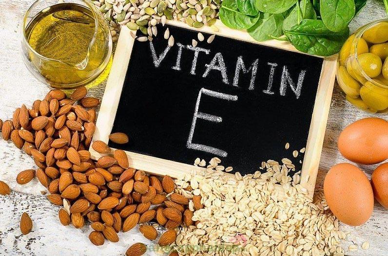 Bổ sung vitamin E trong thành phần
