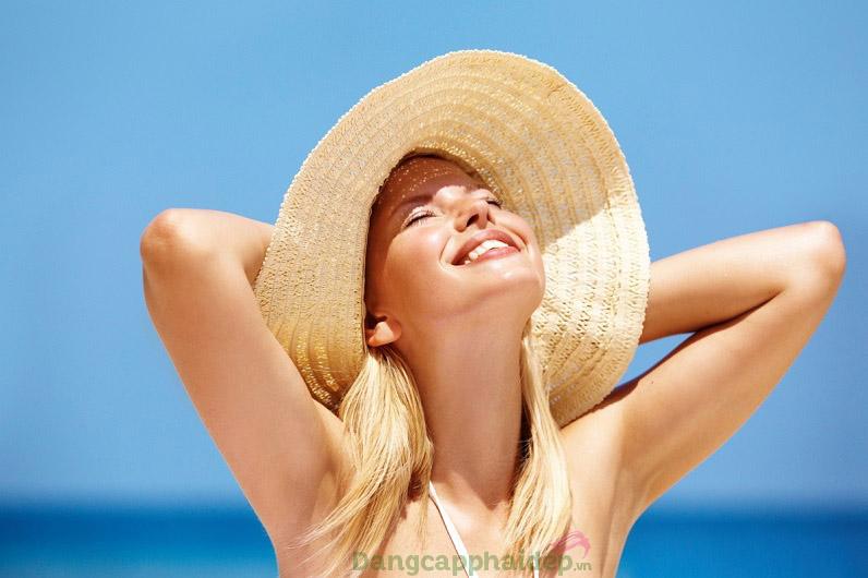 Sản phẩm tạo hàng rào bảo vệ da khỏe đẹp bất chấp nắng nóng