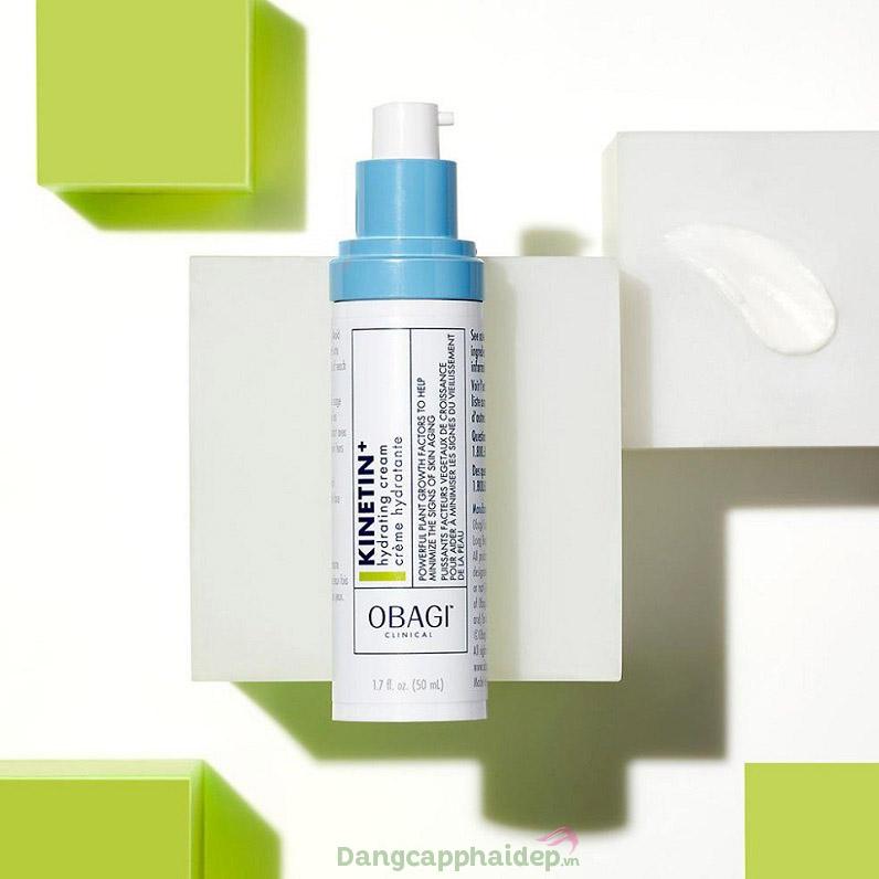 Obagi Clinical Kinetin Hydrating Cream là dòng kem dưỡng phục hồi an toàn cho mọi loại da